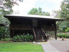 บ้านไม้สไตล์ล้านนา Temporary Architecture, Asian Architecture, Wooden House, Tropical Houses, My Land, Bungalows, Plan Design, Home Projects, Project Ideas