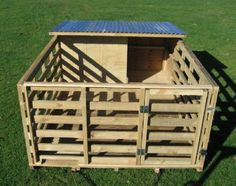Pig House. Unless, he is just a free range pig :)