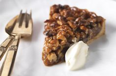 Honeyed walnut tart Round off your meal in style with this sweet and nutty tart on a crisp pastry base and serve with a dollop of crème fraîche Tart Recipes, Sweet Recipes, Dessert Recipes, Desserts, Honey Dessert, Savory Tart, Meals For The Week, Sweet Tooth, Baking