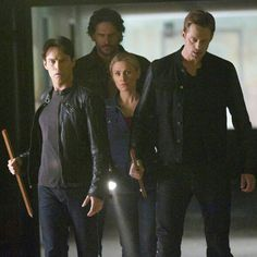 Sookie and her men.