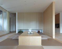 畳コーナー 間仕切り格子 ナチュラル|注文住宅のアキュラホーム