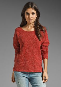 RVCA Roamer Sweater in Aurora Red at Revolve Clothing - Free Shipping!