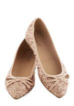 Go for the Rose Gold Flat | Mod Retro Vintage Flats | ModCloth.com