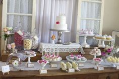 Sweets table via @Daydream Believer Lily