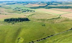 Barbury Castle, on the Wiltshire Downs.