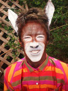 A Midsummer Night's Dream Makeup: Bottom (Donkey)