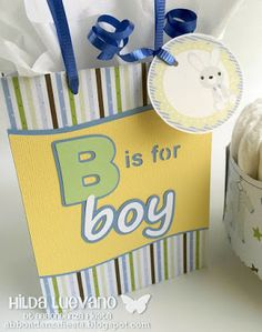 Hilda Designs: Baby Shower Judith Blog Hop en AF: