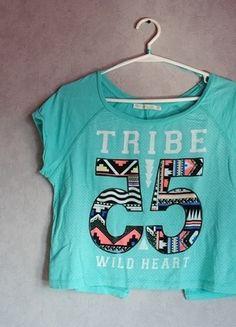 Kup mój przedmiot na #vintedpl http://www.vinted.pl/damska-odziez/koszulki-z-krotkim-rekawem-t-shirty/10874555-turkusowa-bluzka-z-bershka
