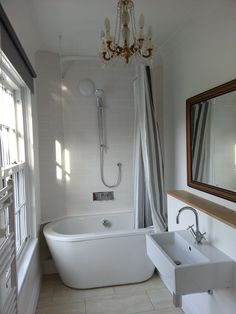 Victorian house bathroom makeover on a budget Victorian House, Clawfoot Bathtub, Budget, Spaces, Bathroom, Washroom, Victorian Townhouse, Full Bath, Budgeting