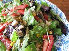 Chipotle Chicken Salad   #glutenfree #glutenfreerecipes #chicken