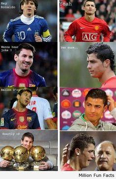 Hey! Ronaldo Wanna Hear A Joke?