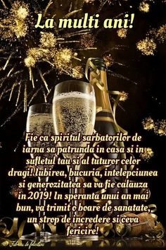 Happy New Year 2019, New Year Wishes, An Nou Fericit, Diy And Crafts, Congratulations, Happy Birthday, Happiness, Vintage Christmas Images, Hd Wallpapers For Iphone
