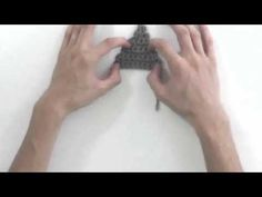 How to Crochet a Triangle - YouTube