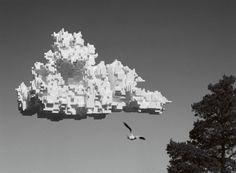 Pixel cloud by Tobias Allanson