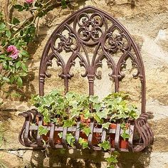 Medieval Wall Planter