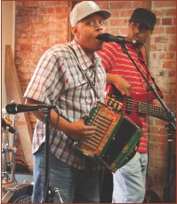 Say hello to Zydeco! Lil' Pookie & the Zydeco Sensations perform at Café Des Amis in Breaux Bridge, Louisiana.