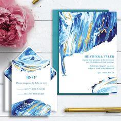 Ocean Spray Wedding Invitations