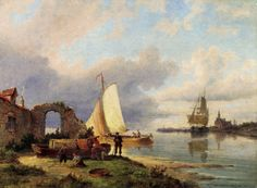 Pieter Christian Dommerson - On The Spaarne Haarlem