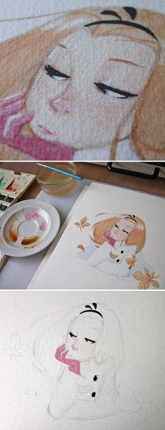 Queria muito uma imagem minha nesse tipo de pintura !!! Acho muito expressivo !!!