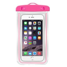 Premium Great PVC Luminous Waterproof Phone Case Cover For Iphone Water Proof Underwater Bag for iPhone6 All mobile Phone