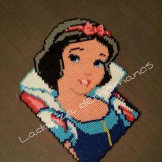 Snow White hama beads by ladanza_demismanos