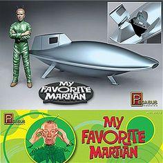 My Favorite Martian model kit by Pegasus