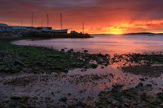 Dawn in Port Lincoln, south Australia -  by David Gibbs
