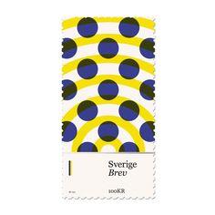 duanedalton:  New design added to my #basicstamps project. #Sweden #design #stamp #dots