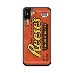 Reeses Peanut Butter Cups iPhone XS Max Case | Miloscase How To Know, How To Make, Reeses Peanut Butter, Phone Case, How To Apply, Iphone, Phone Cases, Phone Covers