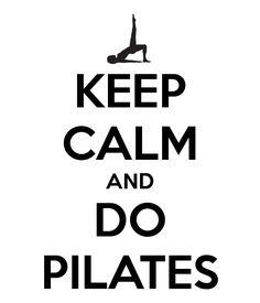 rocking Keep Calm | Do Pilates (Invitation to the program)