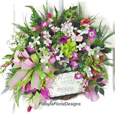 A personal favorite from my Etsy shop https://www.etsy.com/listing/580817038/spring-dogwood-wreath-easter-wreath-he