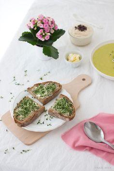 Tinkas Welt: Mit jeweils nur 4 Zutaten - Suppe, Beilage und Nachtisch