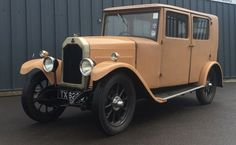 1928 Swift P type 3P Saloon