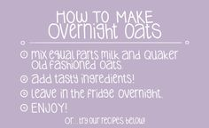 11 Delicious Overnight Oat Recipes To Jump Start Your Morning