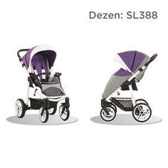 Bebetto Nico S-line kolica za bebe, dezen SL388