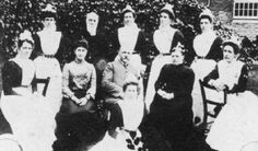 Victorian nurses of the Lunatic Asylums and Mental Hospitals (hate that word Lunatic)
