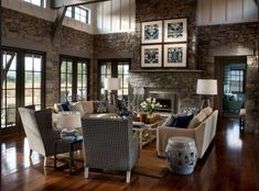 HGTV's Dream Home 2012 living room. Love it. The rest of the house, not so much.