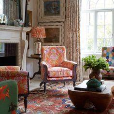 kit kemp interior design - Designed by Kit Kemp -K- Designers/Kit Kemp Pinterest ovent ...