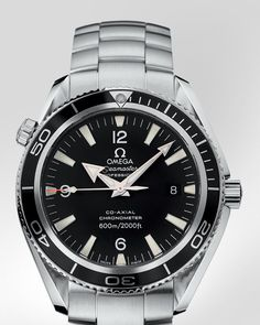 """I don't always wear a watch. But when I do, I prefer an Omega Seamaster Planet Ocean."" - Sex"