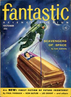 Fantastic Science Fiction Cover Art
