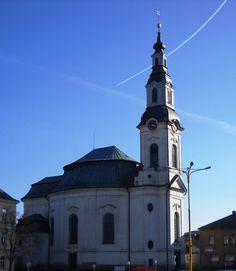 Římskokatolický kostel Nanebevzetí Panny Marie - kulturní památka - Nový Bor - Česko
