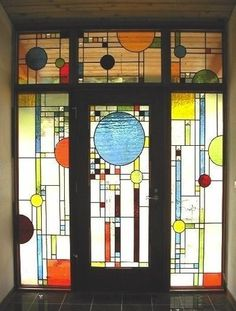 frank lloyd wright stained glass sun | Frank Lloyd Wright Stained Glass | Frank Lloyd Wright Stained Glass
