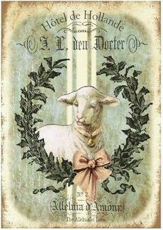 Vintage Labels, Vintage Cards, Vintage Paper, Vintage Postcards, Vintage Images, Shabby, Diy Easter Cards, Decoupage Printables, Book Page Art