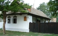 Hungarian peasant house