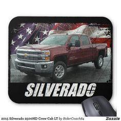 2015 Silverado 2500HD Crew Cab LT Mouse Pad
