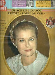 Point de vue N°1560 Grace de Monaco couverature