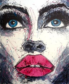 'SMACKERS!' by Missy M Contemporary Art for Sale - ART101 Art Gallery & Framing