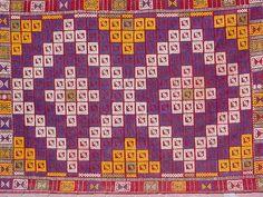 VINTAGE Handwoven Turkish Area Rug Kilim Carpet by sofaART on Etsy, $399.00