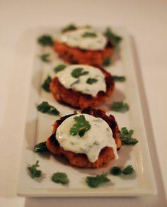 sweet potato corn cakes - mint love social club