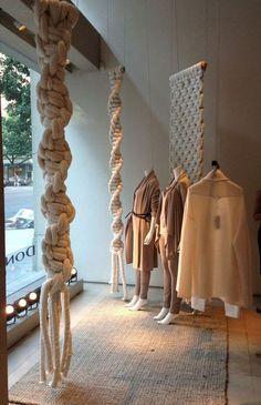 Macrame Decoration | Modern Macrame Store Display